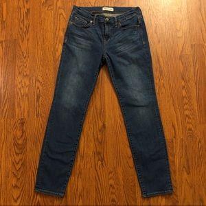 Madewell Medium Wash Skinny Jeans Size 28